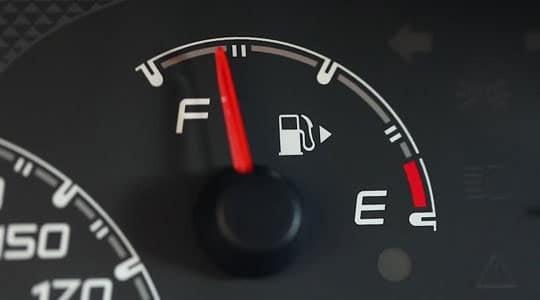 индикатор гориво