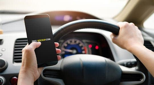 телефон в колата