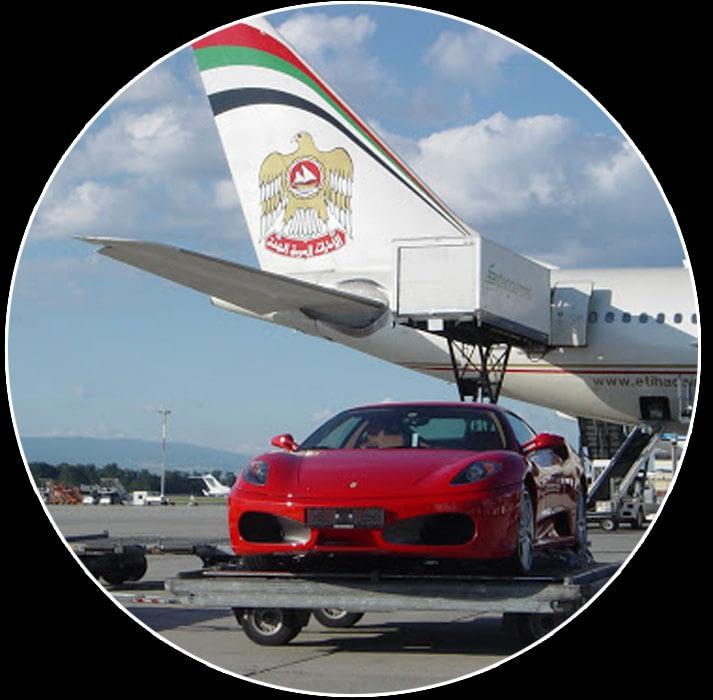 транспорт-на-автомобили-със-самолет